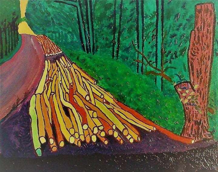 Coupe de bois - Cothy'Art