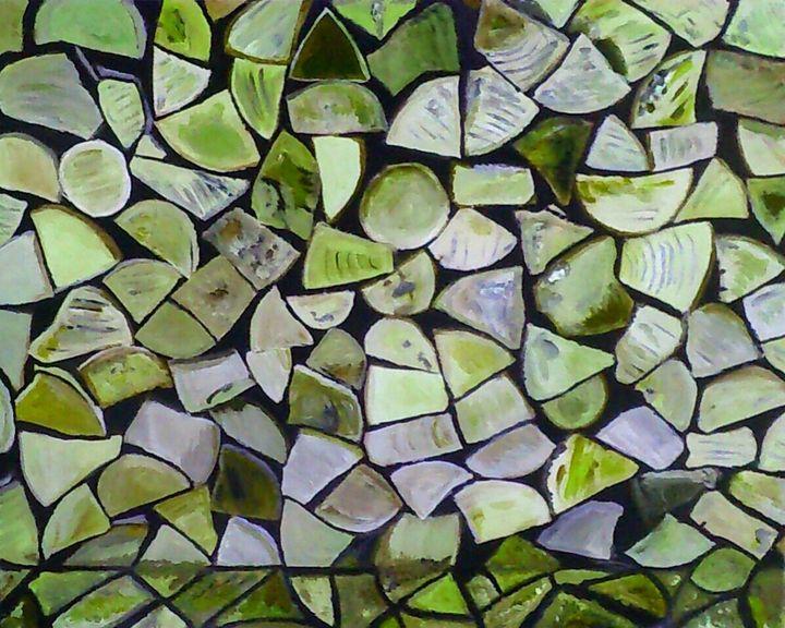 Pile de bois - Cothy'Art