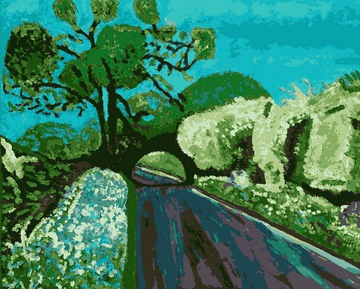 La Route Fleurie - Cothy'Art