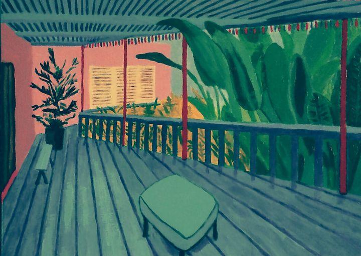 Terrasse Bleue - Cothy'Art