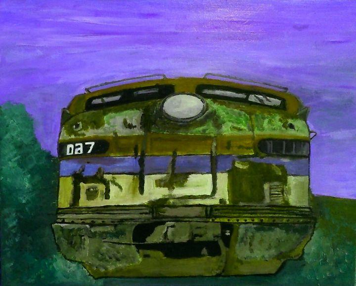 Locomotive - Cothy'Art