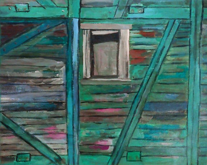 Wagon à bestiaux - Cothy'Art