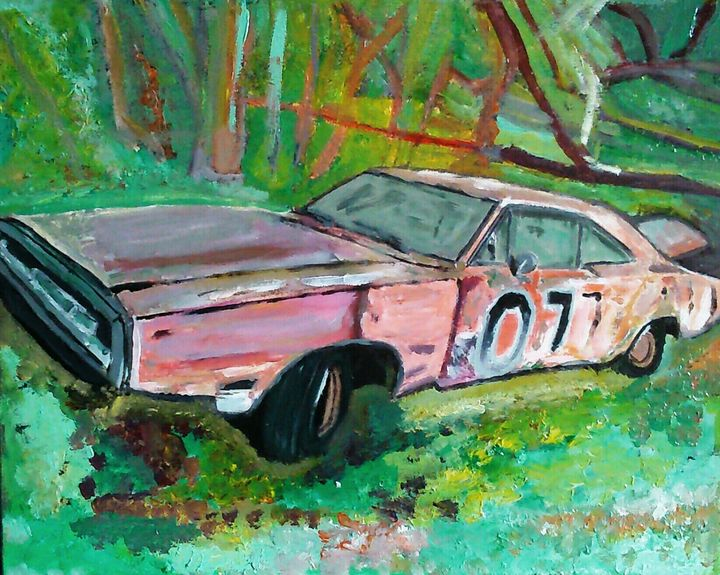 Dodge Charger. - Cothy'Art