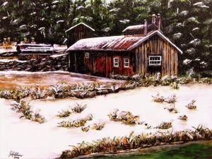 Grant Farmily Maple Syrup Barn
