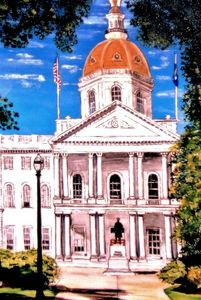 State House, Concord, NH