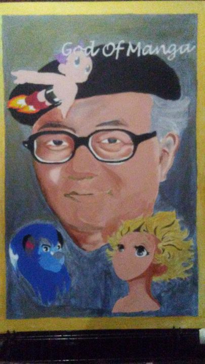 The Father Of Manga - Moore