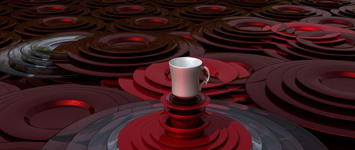 Abstract Coffee no. 6 - Smartist