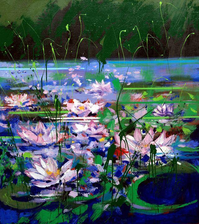 Water Lilies - Mario Zampedroni