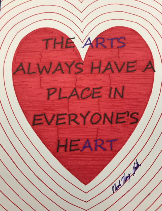 Art in Our Hearts - NicolesDesignsNMore