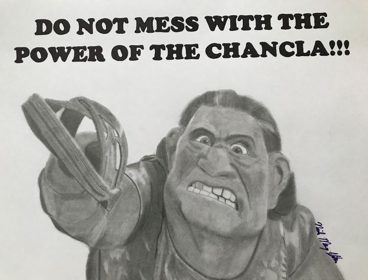 The Power of the Chancla - NicolesDesignsNMore