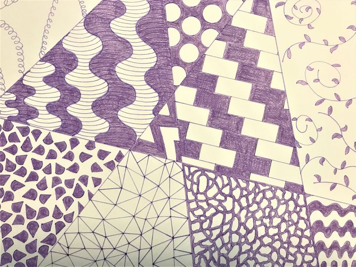 Lavender Abstract Pattern - NicolesDesignsNMore