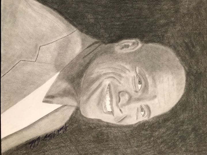 "Dwayne ""The Rock"" Johnson Drawing - NicolesDesignsNMore"