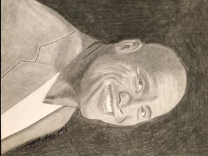 "Dwayne ""The Rock"" Johnson Drawing"
