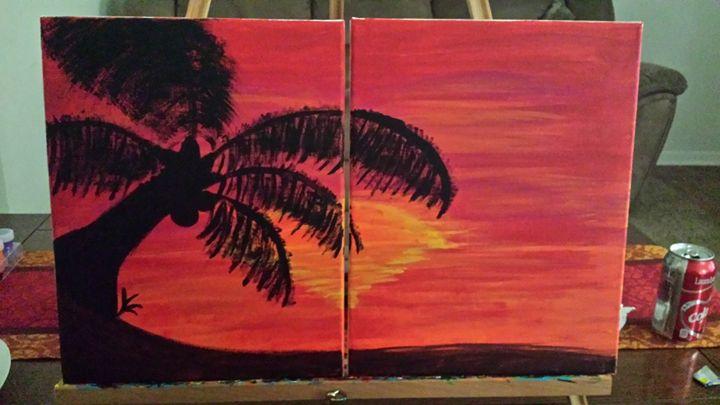 Forbidden palms - Art by Aimee