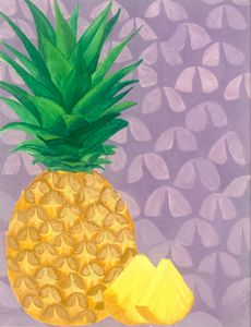 Summer Fruits Prints: Pineapple
