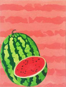 Summer Fruits Prints: Watermelon