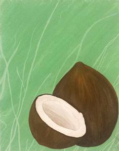 Summer Fruits Prints: Coconut