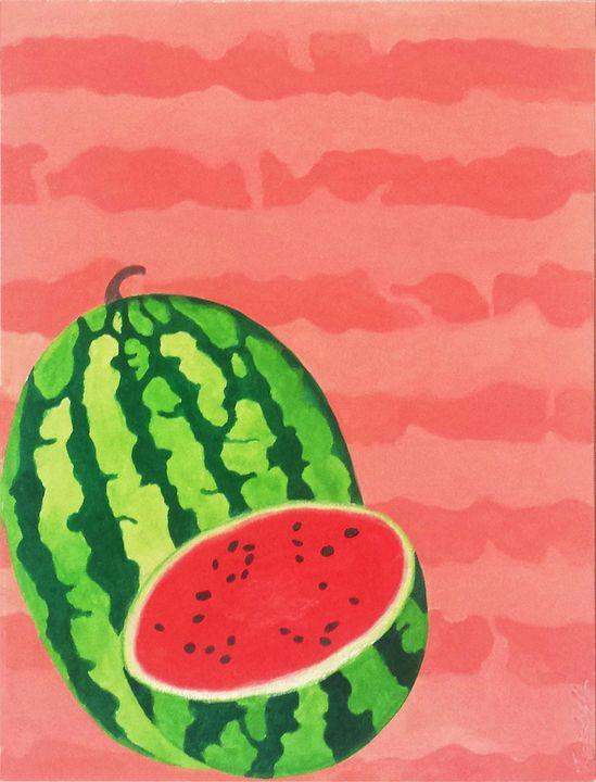 Summer Fruits Series: Watermelon - Llewellyn Design Studio: Tracy Llewellyn