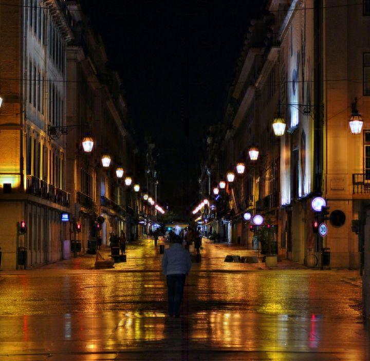 Street Lights - Sandra Buchanan