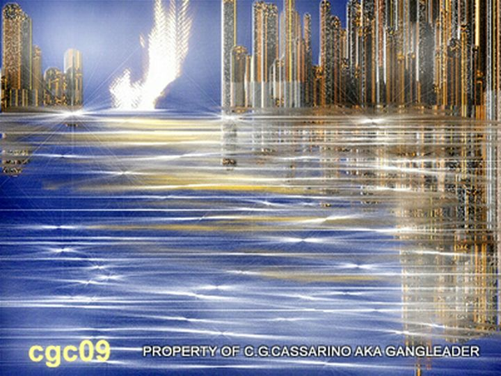 Golden city of fire - Carla giovanna cassarino