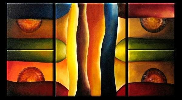 Abstract color speaks - Pam's Art House
