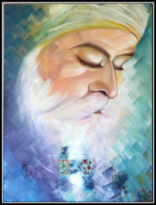 Shri Guru Nanak Dev Ji - Sikh Guru - Pam's Art House