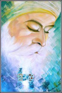 Guru Nanak Dev Ji closeup