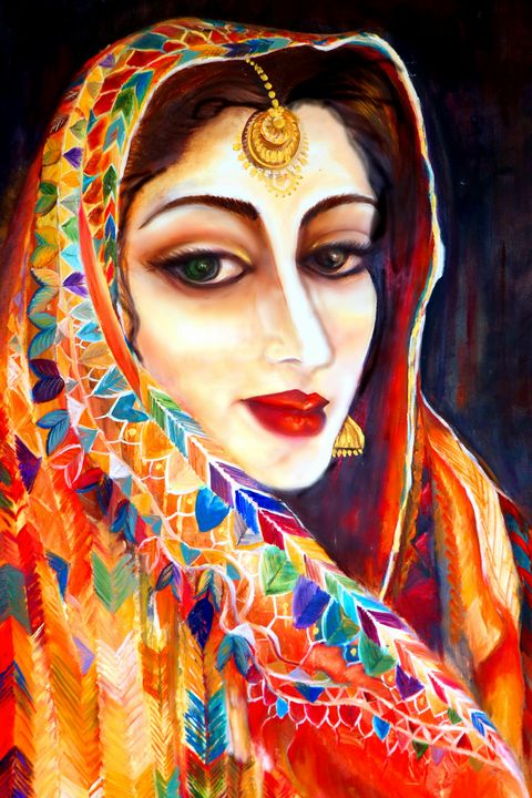 Traditional Punjabi Gal - Pam's Art House