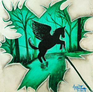 The flying Pegasus