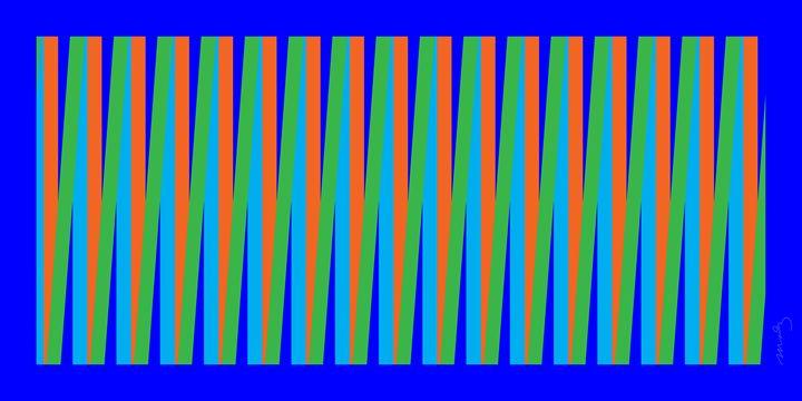 Blue Study - Cjmoniz