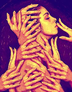 Woman Loves Hands