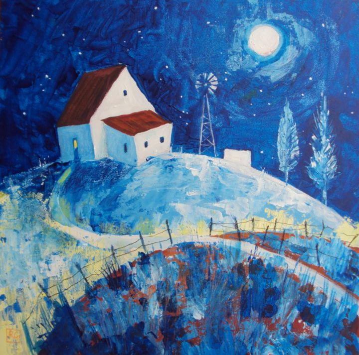 house on the blue hills - galleroa