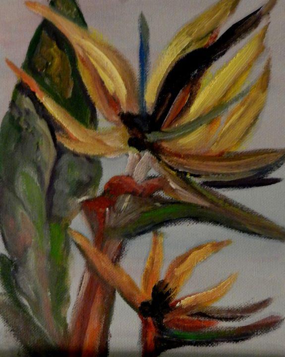 Bird of Paradise flower 1 - CS art