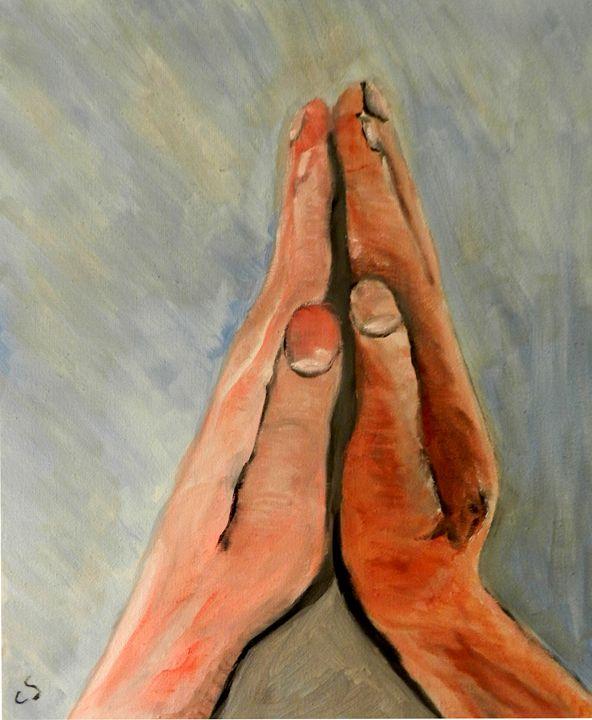Praying - CS art