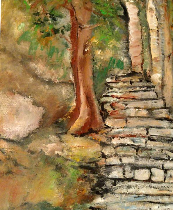 Chemin des lichens - CS art