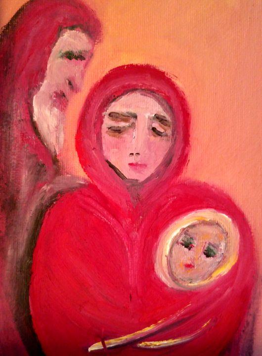 Red Family - CS art