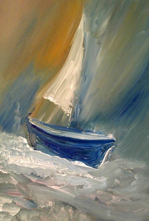 Sailing 24 - CS art