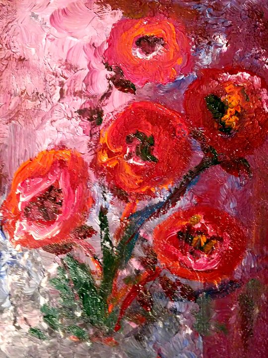 Poppies - CS art