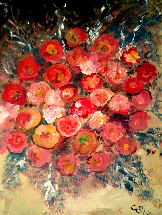 Bouquet November (for David) - CS art