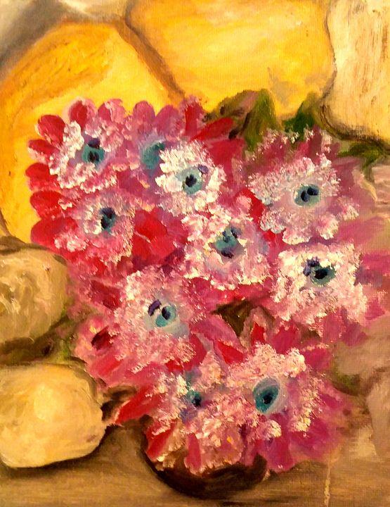 Fleurs de grotte - CS art