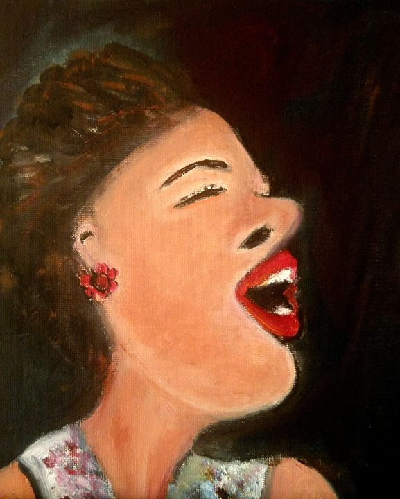 Billie Holiday - CS art