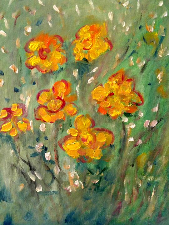 Early Flowers - CS art