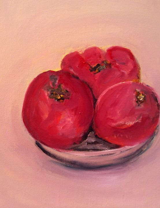 3 apples - CS art