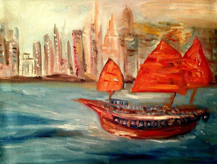 Dogger in Gulf - CS art