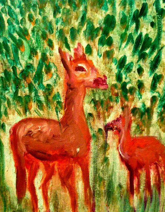 Deer 2 - CS art