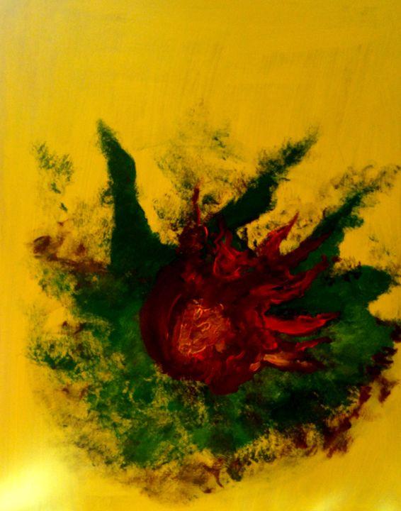 Fleur de feu - CS art