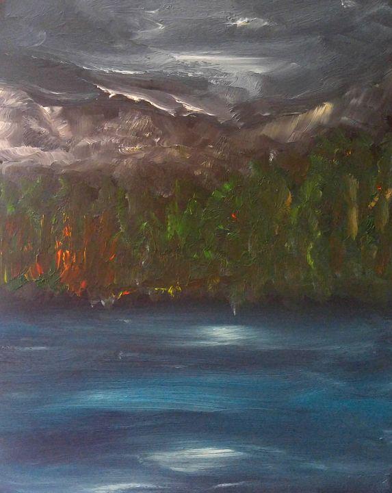 Joffre Lakes 3 - CS art