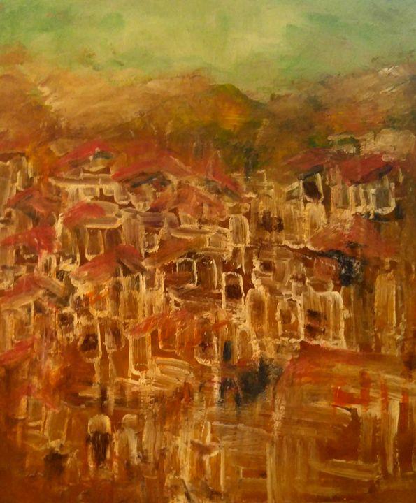 Empty Village - CS art