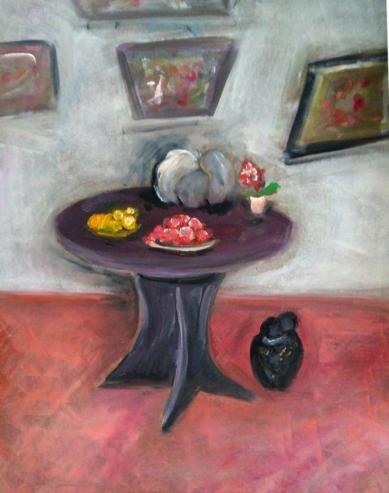 Table dans mon salon - CS art