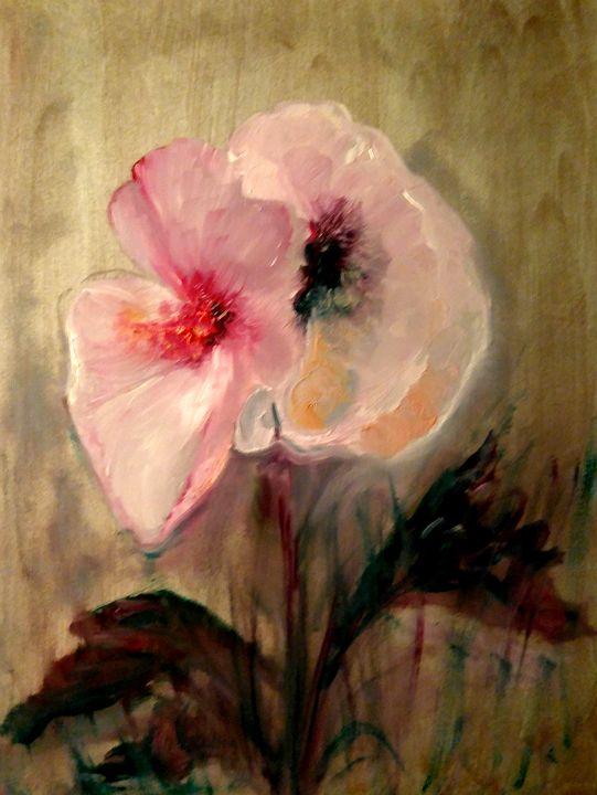 Fleurs de Nicole et Pierre - CS art